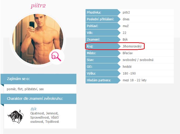 nejlepší mužský profil pro seznamka