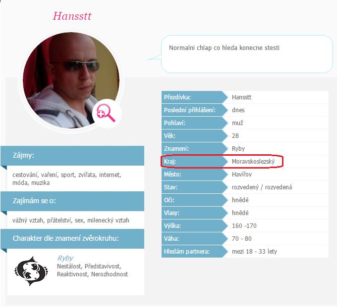 mužské profily pro seznamovací weby